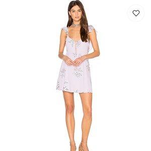 SMYM   Delilah Dress in Liv Lov Lav NWOT